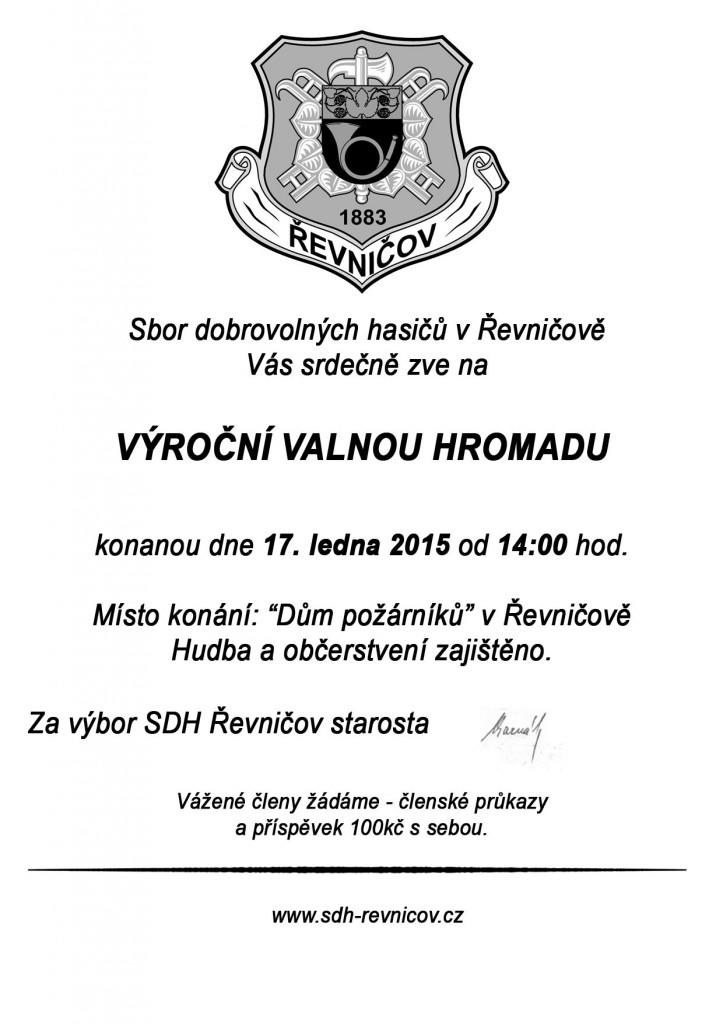 Pozvanka  VVH_domaci